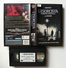 VHS - L'ESORCISTA VERSIONE INTEGRALE - 1973 - WARNER - USATA EX NOL. - VINTAGE