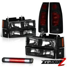 Bumper Parking Headlamps Rear Brake Tail Light High Cargo LED 96 97 98 Silverado