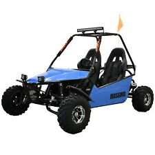 New Massimo Go Kart 200cc GKM-200 Automatic Transmission w/Reverse in Blue