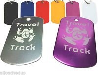 Trackable Tag for Geocaching - Travel Track Tag - trackable like a Travel Bug