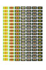 1/24 1/25 scale model car assorted Vietnam war service license plates tags