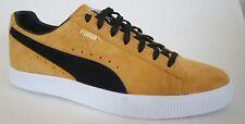 Puma Clyde Yellow/Black  Men Walking Shoes 7.5