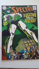 """SPECTRE #5 Dc Comics """"Fugitive from Justice"""" Jul/Aug 1968 FN 6.5+"""