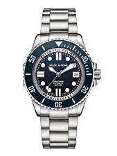 Marc & SONS orologio subacqueo automatico 500m, ETA 2824-2, bgw9, ceramica lunetta fissa, Zaffiro