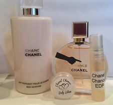 Chanel Chance 3ml Perfume & Body Lotion Set