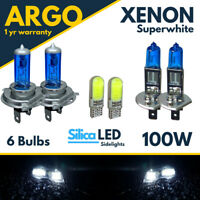 Ford Transit Headlight Connect Bulbs Xenon Hid White 100w Fog Led Side light Van