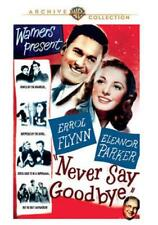 NEVER SAY GOODBYE NEW DVD