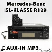 Mercedes Audio 10 CD MF2199 AUX-IN MP3 R129 Radio SL-Klasse W129 CD-R Autoradio