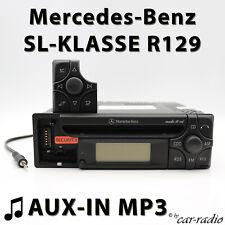 MERCEDES AUDIO 10 CD mf2199 Aux-in mp3 r129 RADIO SL-classe w129 CD-R AutoRadio