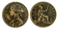 pcc1797_12) Great Britain Queen Victoria - One 1  penny 1873