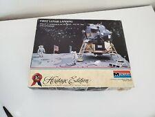 Monogram #6060 Heritage Edition First Lunar Landing Apollo 11 1/48
