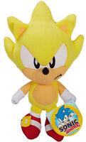 """Sonic the Hedgehog ~ 7"""" SUPER SONIC PLUSH FIGURE Official JAKKS Pacific Plushie"""