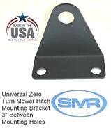 "Universal Zero Turn Lawn Mower Trailer Tow Hitch 3"" Mount 3/4 Pin Powder Coated"