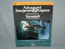 AD&D 1st Edition Module -  I6 RAVENLOFT  (Highly Sought After - RARE and VG+!!)