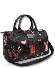 Liquor Brand Damen FORREST ANIMALS Handtasche/Bags.Tattoo,Pin up,Biker Style
