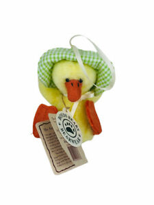 Vintage Boyds Bears Mini Lyla Quackenwaddle Duckling Ornament #561931 with Tags