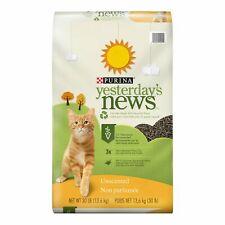 Yesterday's News Original Cat Litter (Unscented) [30 Lb]