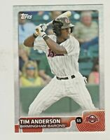 201 Topps Pro Debut #55 TIM ANDERSON RC Rookie Chicago White Sox