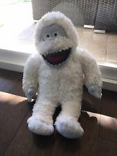 "Build A Bear Rudolph Bumble Abominable Snowman Plush Euc 17"" Stuffed Animal"