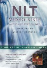 NEW Sealed DVD! Complete NLT Video Bible - Audio & Text, with Stephen Johnston