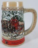"Anheuser-Busch Budweiser Stein 1987 Collector's Series ""C"" Series"