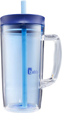 32 oz Insulated Double Wall Cold Mug With Handle BPA Free Stain Odor Resistant