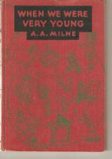 WHEN WE WERE YOUNG-A.A. MILNE-1950