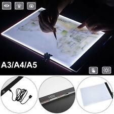 A3/A4/A5 художник светодиодный чертежной доске трассировка стол трафарет татуировка дисплей световой короб