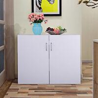 """Kitchen Laundry Bathroom 2 Door Wall Mount Cabinet Storage Organizer 32""""x25"""""""