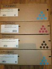 4 X JOB LOT Genuine Ricoh SP C310HE Toner Set CMY  407637 407636 407635