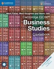 Cambridge IGCSE (R) Business Studies Coursebook with CD-ROM by Mark Fisher, Veenu Jain, Medi Houghton (Mixed media product, 2014)