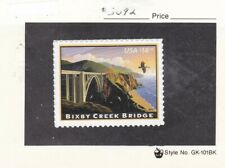 US MNH #4439 $18.30 Bixby Creek Bridge, Carmel  ,  _4439