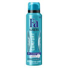 ( 16,60€/ L) 150ml FA men DESODORANTE Comfort REFRESHING Caring 0% aluminio, 0%