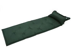 Materassino gonfiabile per dormire impermeabile con cuscino per campeggio