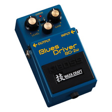 Boss BD2W Blues Driver Waza Craft Special Edition Pedal