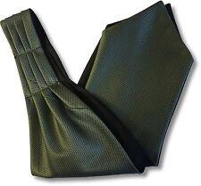 """Da Uomo Nero """"Sotto Camicia"""" cravatta tie Royal Ascot con motivo garza verde salvia"""