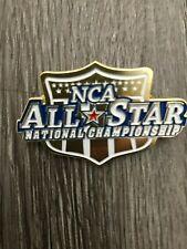NCA Nationals Cheerleading Dance Metal Bag Pin Trading No Bow Cheer Gift