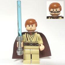 LEGO STAR WARS Figur Obi-Wan Kenobi sw409 aus 9499 inkl. Laserschwert Gungan Sub