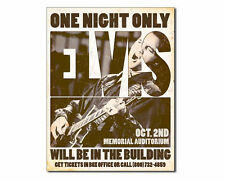 Tin Sign - Elvis - One Night Only