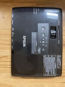 Epson PowerLite 1751 LCD Projector, Model H479A. With Travel Case And Power Cord