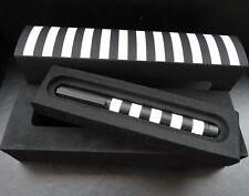Breitling Schweiz Metall Schwarz/Weiß Design schöner sammler Kugelschreiber OVP
