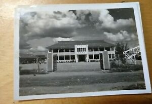 1950s Vintage Photo Brunei Kuala Belait Chung Hua Middle School 文莱马来奕大中华公学