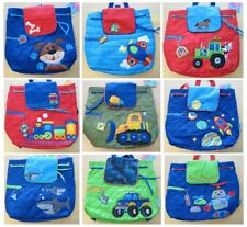 New Boys Quilted Backpack Bag Over night Toddler Baby Stephen Joseph Preschool