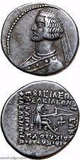 PARTHIAN KINGDOM SILVER DRACHM COIN ORODES II 57-38 BC