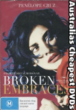 Broken Embraces DVD NEW, FREE POSTAGE WITHIN AUSTRALIA REGION 4