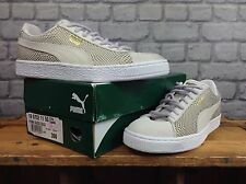 PUMA LADIES UK 6 EU 39 SUEDE GOLD PACK TRAINERS