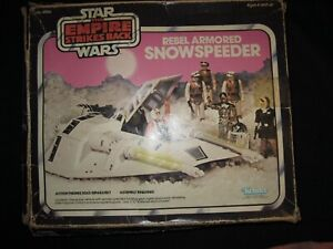 STAR WARS REBEL SNOW SPEEDER  (COMPLETE)