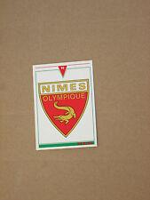 Carte official football cards panini 1993  NIMES OLYMPIQUE  LOGO BLASON