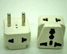 Plug Adapter 2 In 1 - Asia Europe Adapter - Universal Input - 2 Sockets