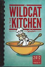 *ARLINGTON HEIGHTS IL 2012 WINDSOR SCHOOL PTA COOK BOOK *WILDCAT IN THE KITCHEN